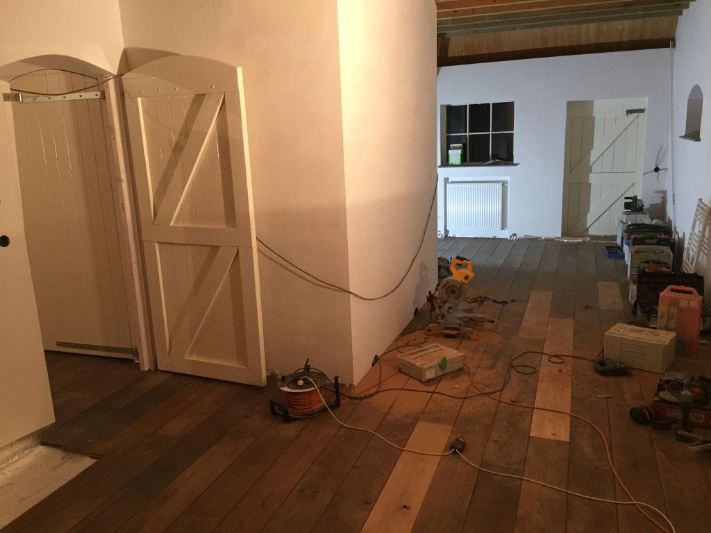 Oude Eiken Vloer : Renovatie oude eiken vloer u nationale bouwbrigade